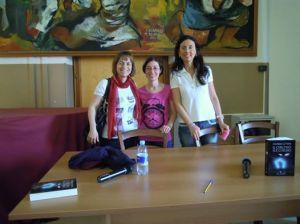 Io e le prof. Angela Sciancalepore e Rosalba Curci